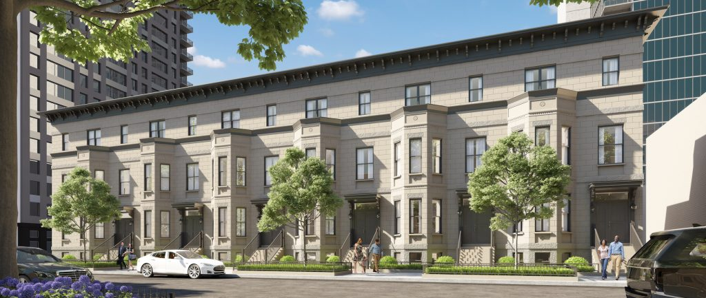 chestnut row townhomes
